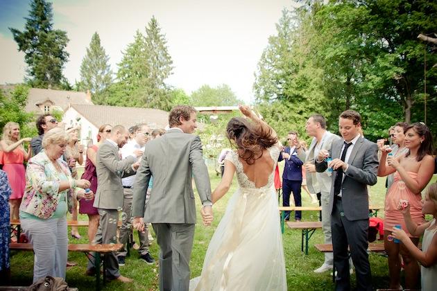 Matrimonio Bohemien Moda : Una boda hippie chic en francia