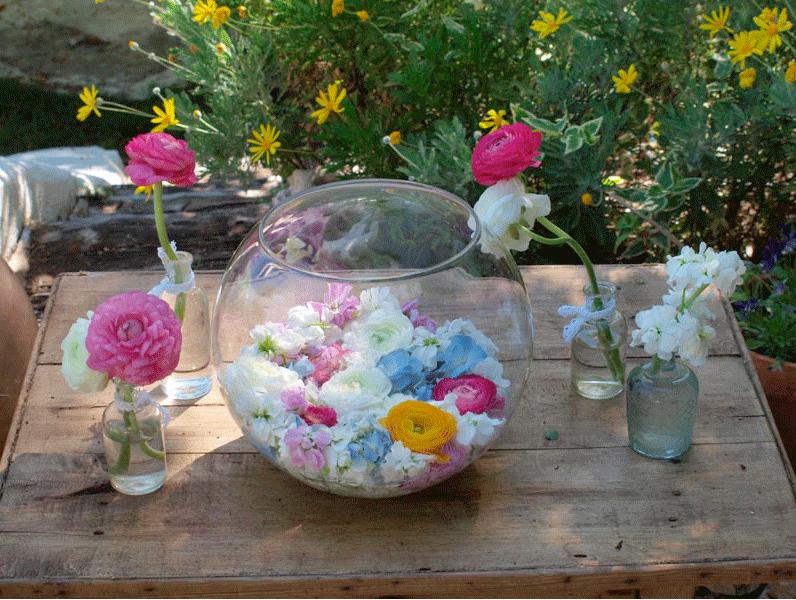 Flores en el columpio | 321mecaso