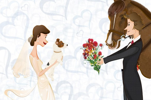 Escauriaza ilustraciones para boda | 321mecaso
