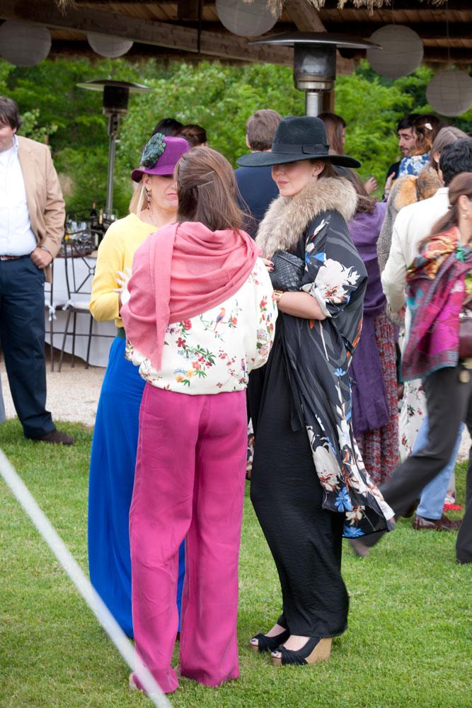 Una boda hippychic en el campo