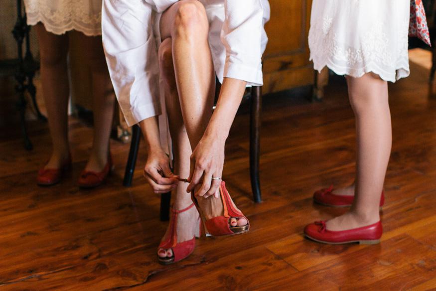 Zapatos rojos novia | 321mecaso