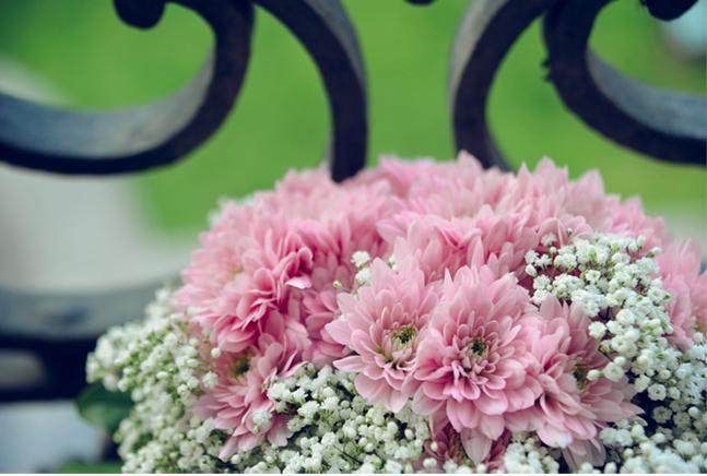 Ramo de novia rosa | 321mecaso