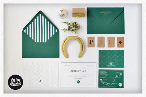 Invitación de boda estilo ecuestre | 321mecaso