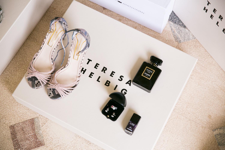 Zapatos pitón Serena Whitehaven