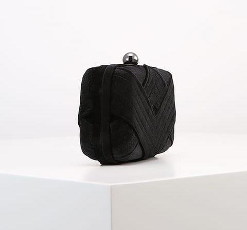 Clutch negro Zalando